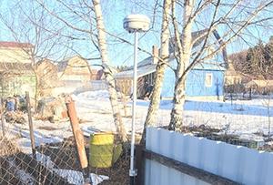 Определение координат границ участка при проведении работ по межеванию в СНТ. Сергиево-Посадский муниципальный район