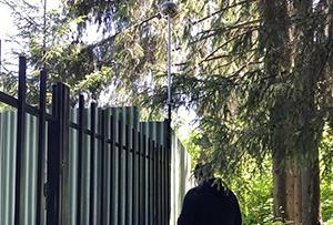 Определение координат границ участка при проведении работ по межеванию ЗОП в СНТ. г. Сергиев Посад