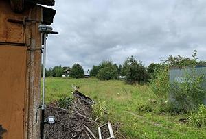 Выполнено межевание земельного участка в с. Хомяково