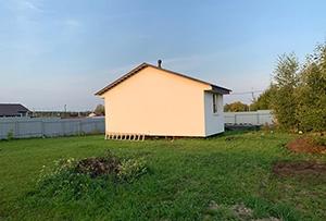 Привязка и обмер жилого дома в ДНТ для подготовки техплана. Сергиево-Посадский район