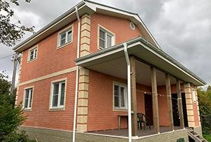 Привязка и обмер жилого дома в СНТ для подготовки техплана. Сергиево-Посадский р-н