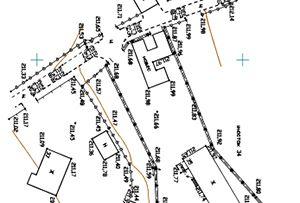 Топосъемка земельного участка, выполнена для подготовки межевого плана и увеличения земельного участка.  Московская область, Одинцовский муниципальный район.