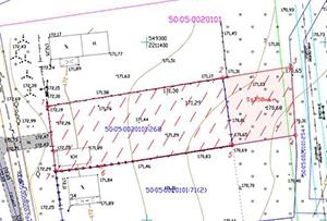 Схема расположения земельного участка на кадастровом плане территории. Московская область, Сергиево-Посадский муниципальный район.