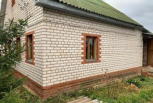 Привязка и обмер жилого дома в деревне для подготовки технического плана. Сергиево-Посадский район