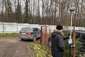 Определение координат границ участка при проведении работ по межеванию в СНТ. Сергиево-Посадский