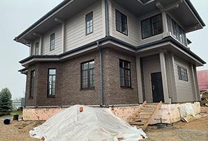 Привязка и обмер жилого дома для подготовки технического плана. Сергиево-Посадский муниципальный р-н