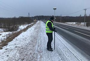 Инженерно-геодезические изыскания для реконструкции автомобильной дороги и строительства АЗС. Сергиево-Посадский городской округ.