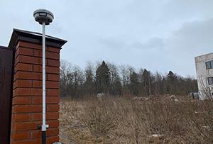 Топосъемка выполнена для разработки проекта строительства жилого дома. г. Сергиев Посад