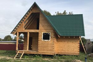 Оформление жилого дома. Сергиево-Посадский городской округ