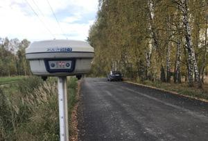 Геодезические работы для подготовки схемы расположения земельного участка на КПТ. Пушкинский городской округ