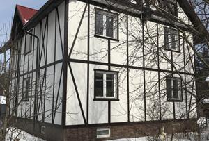 Оформление жилого дома г. Сергиев Посад