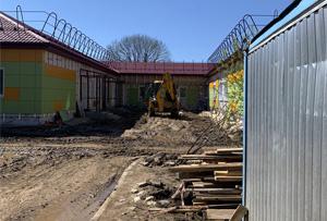 Геодезическое сопровождение строительства дома-интерната в Сергиево-Посадском округе